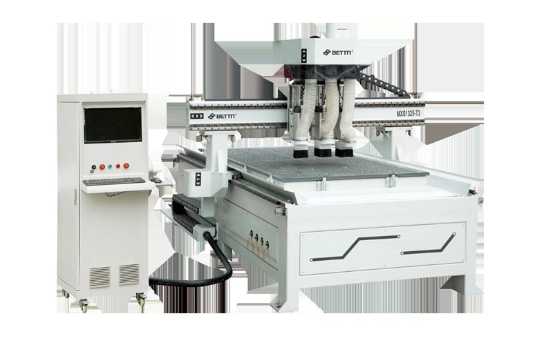 Cortadora CNC / Tres conmutadores (MSD1325-T3)