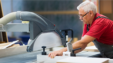 Conjunto completo de procedimiento de operación de seguridad de maquinaria de carpinterías